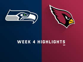 Seahawks vs. Cardinals highlights | Week 4