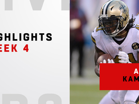Every touch from Kamara's 181-yard day | Week 4