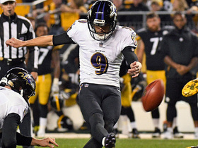 Justin Tucker stays perfect with third field goal of the night