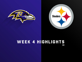 Ravens vs. Steelers highlights | Week 4