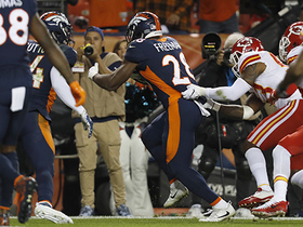 Freeman refuses to go down, trucking two Chiefs in the process