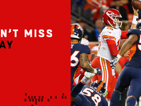 Can't-Miss Play: Mahomes goes LEFTY for key pass on the run to Hill