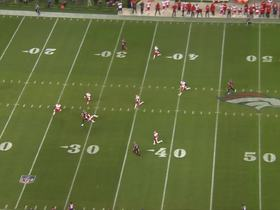 Keenum under pressure finds a wide-open Heuerman