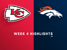 Chiefs vs. Broncos highlights | Week 4