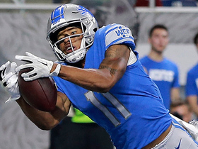 Marvin Jones stretches for diving TD grab