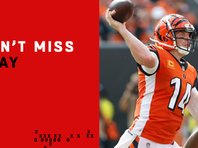 Can't-Miss Play: Dalton's desperation heave results in TD for Mixon