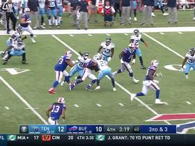 Shady slips five tackles to get Bills first down