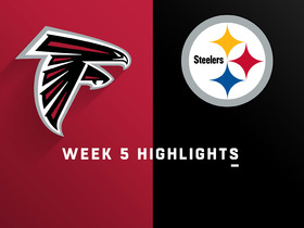 Falcons vs. Steelers highlights | Week 5
