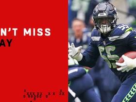 Can't-Miss Play: Frank Clark catches tipped Goff INT in end zone