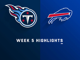Titans vs. Bills highlights | Week 5