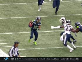 Lockett breaks loose on 42-yard kick return