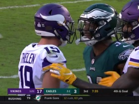 Mills, Thielen need to be separated after argument