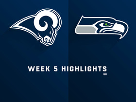 Rams vs. Seahawks highlights | Week 5