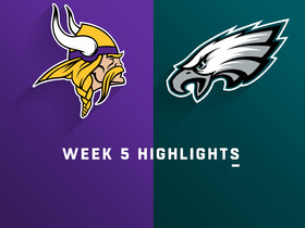Vikings vs. Eagles highlights | Week 5