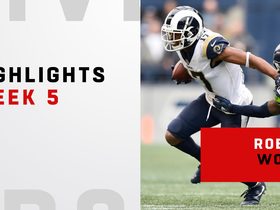 Highlights from Woods' 145-yard day | Week 5