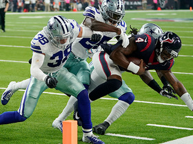 Cowboys stonewall Watson for fourth-down stop