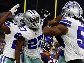 Anthony Brown knocks out ball, Cowboys recover fumble