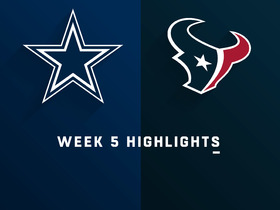 Cowboys vs. Texans highlights | Week 5