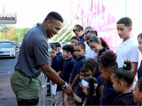 Rodney McLeod creates Student Health Impact Projects
