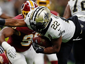 Mark Ingram reaches for second TD of game
