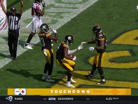 JuJu Smith-Schuster touchdown celebration