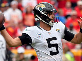 Warner says he has no 'expectations' for Bortles in Week 6