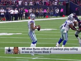 Allen Hurns critical of Cowboys' play calling