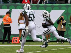 Tip drill results in pick-six for Morris Claiborne