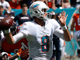 Brock throws first TD as a Dolphin to Nick O'Leary
