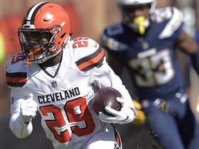 Duke Johnson shows off speed on 32-yard catch