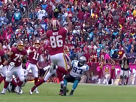 Jordan Reed makes remarkable one-handed catch