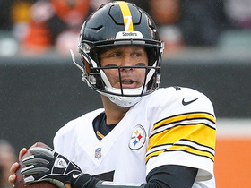 Big Ben catches own double-tipped pass