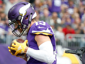 Cousins zips the to Thielen for Vikings TD