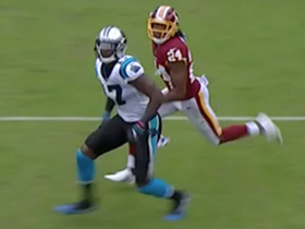 Funchess goes up against Norman and makes outstanding catch