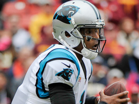 Cam Newton narrows the lead with successful two-point conversion