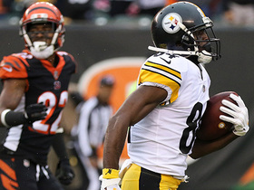Brown races past Bengals for 48-yard catch and run