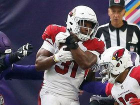 David Johnson powers through defense for TD