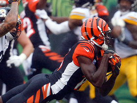 A.J. Green enters red zone on 23-yard grab