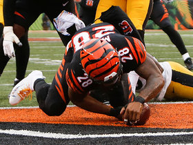 Joe Mixon slices into end zone to give Bengals late lead