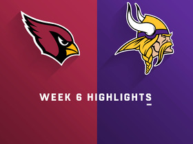Cardinals vs. Vikings highlights | Week 6