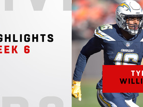 Williams' three catches cover 118 YARDS | Week 6