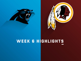 Panthers vs. Redskins highlights | Week 6