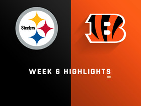 Steelers vs. Bengals highlights | Week 6