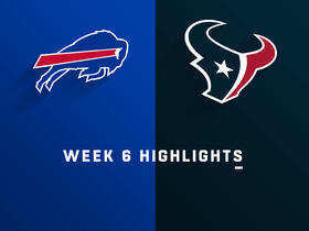 Bills vs. Texans highlights | Week 6