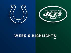 Colts vs. Jets highlights | Week 6