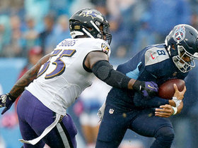 Suggs and Wormley get through to sack Mariota