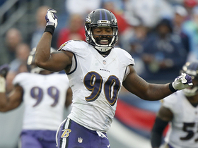 Za'Darius Smith envelops Mariota for another Ravens sack
