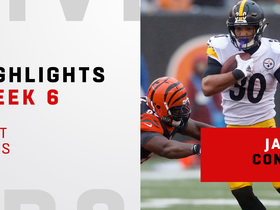 Conner's top plays from 129-yard game | Week 6
