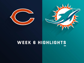 Bears vs. Dolphins highlights | Week 6