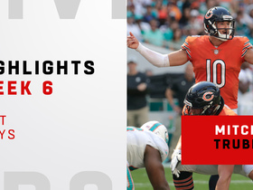 Trubisky's top plays from 363-yard day vs. 'Fins | Week 6